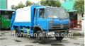 Dongfeng chasis 4*2 brazo hidráulico camión compactador de basura