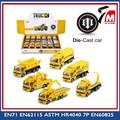 metal caminhão de brinquedo pull back personalizado diecast carro