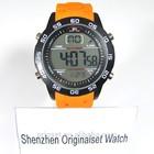multi-function digital watch logo stop watch digital man watch