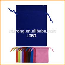 Custom printed logo jewellery pouch