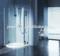 aqoc2806cl gehärtetem glas rahmenlose duschabtrennung scharnier