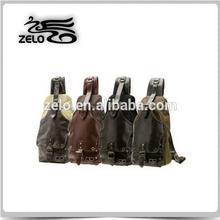 men's sling cotton canvas bag manufacturers in China olive color