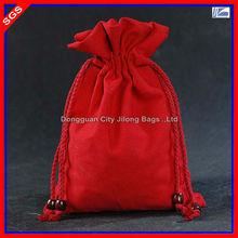 Wholesale Small Red Cotton Canvas Souvenir Bag