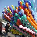 المسمار/ دوامة اللاتكس البالون لعبة هدية