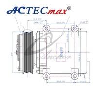 Auto/cars Air-Conditioning A/C sanden 508 compressor , sanden 505 compressor