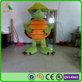 custom green ninja turtles mascot costume, commercial advertising costume