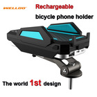 NEW Bike mount holder with 6000mAh power mountain bike accessories cycling equipment bicycle accessory