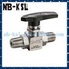 high pressure male npt thread ball valve