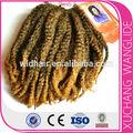 yeni moda afro kinky kıvırmak örgü için sentetik saç