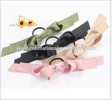 Bow Elastic hair bands ,fashion elastic hair tie,elastic hair bands HB-HM030