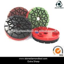 Resin Bond EP-02A Diamond Polishing Pads Concrete Tools for Grinder Machine