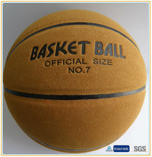 Training basketball standard size 7 6 5 3 laminated cowhide micro fiber leather material logo custom printed