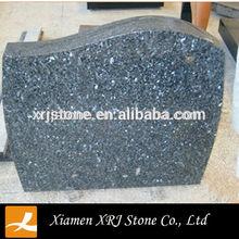 blue pearl granite headstone urn