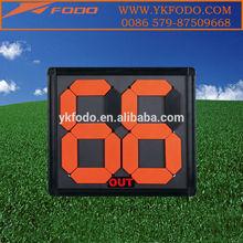 football&soccer&basketball&volleyball score board plastic change board(FD687-2)