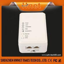 Wireless powerline communication wireless power line adapter gigabit ethernet network adapter