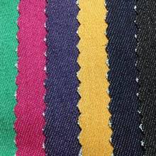 wholesale stretch denim fabric supplier 95% cotton 5% spandex blend yarn dyed twill denim fabric