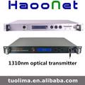 de alta calidad 1310 fibra óptica ftth de televisión por cable del transmisor y el receptor