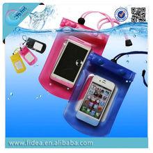 2014 Swimming PVC Mobile Phone WaterProof Bag for iphone 6 waterproof case