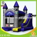 sıcak en14960 ticari açık combo şişme bouncy castel çocuklar için yatak