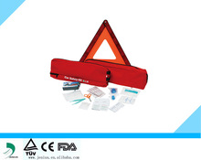 Private label auto first aid kit, Emergency car first aid bag,CE/FDA first aid kit