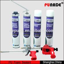 750 ml High Quality ecnomical PU Foam sealant , general purpose expanding construction PU foam