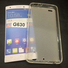 Matte Pudding Soft Gel Case TPU Cover for HUAWEI G630