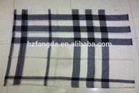100% Pure Stripe Cashmere scarf/tallit