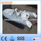 hypalon material 3.9m fiberglass fishing yacht with CE