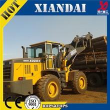 XD935G 3.0T china wheel log loader for sale logging equipment