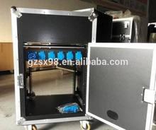 shockproof tour rack case amp rack mixer rack case