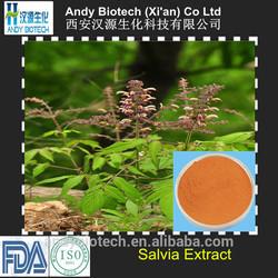 Low Price Pure Natural Salvianolic acid B 10% Salvia Miltiorrhiza Extract
