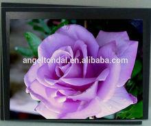 "17"" embedded mount waterproof industrial touchscreen lcd monitor"