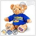 personalizado de pelúcia brinquedos fabricante atender en71 astm padrão urso de peluche com clientes logo