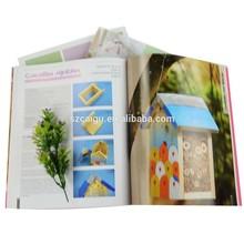 128gsm matte art paper book printing, handmade decoration book printing