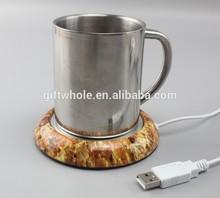 High quality USB Winter items USB coffee heating pad mug warmer pad