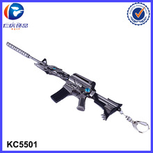 new product Metal Gun Shaped Promotion Keychain