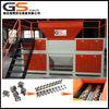 Chinese manufacture plastic film, cardboard, scrap metal, used tire, animal bone, sawdust shredder