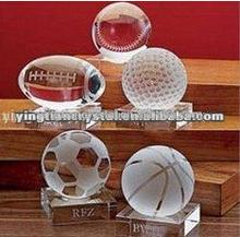 Custom crystal balls,crystal soccer ball, crystal baseball,crystal basketball,crystal globe ball