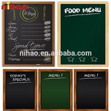 Folding Menu Restaurant Blackboard