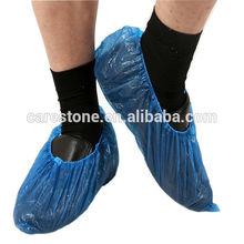 blue color indoor waterproof shoe covers disposable