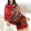 winter lady pashmina scarf,fashion jacquard scarf,lady pashmina shawl
