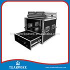 Aluminum frame flight case DJ case rack case, high-tech production & medical equipments' protector