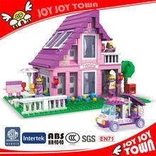 chinese imports wholesale 576pcs princess castle plastic building blocks best girls gift kids toys playmobil