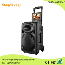 2014 new battery plastic speakers with bluetooth