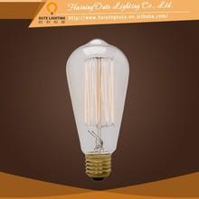 Edison bulbs alibaba express 100% lamp effect antique bird cages