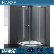 HS-SR859 simple design 8mm tempered glass mobile shower room