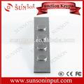 Teclado numérico teclas de função, Metal teclado funcional