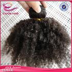 Wholesale cheap brazilian hair weaving afro kinky curl brazilian human hair weave