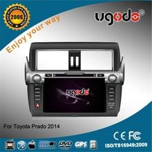 Newly Wholesale OEM ODM 8 Inch car dvd for toyota prado 2014 with Canbus DVD GPS radio bluetooth USB IPOD