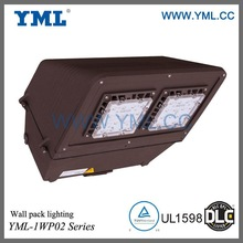 DLC certified, High efficiency, 100W LED Wall Pack Cutoff Light
